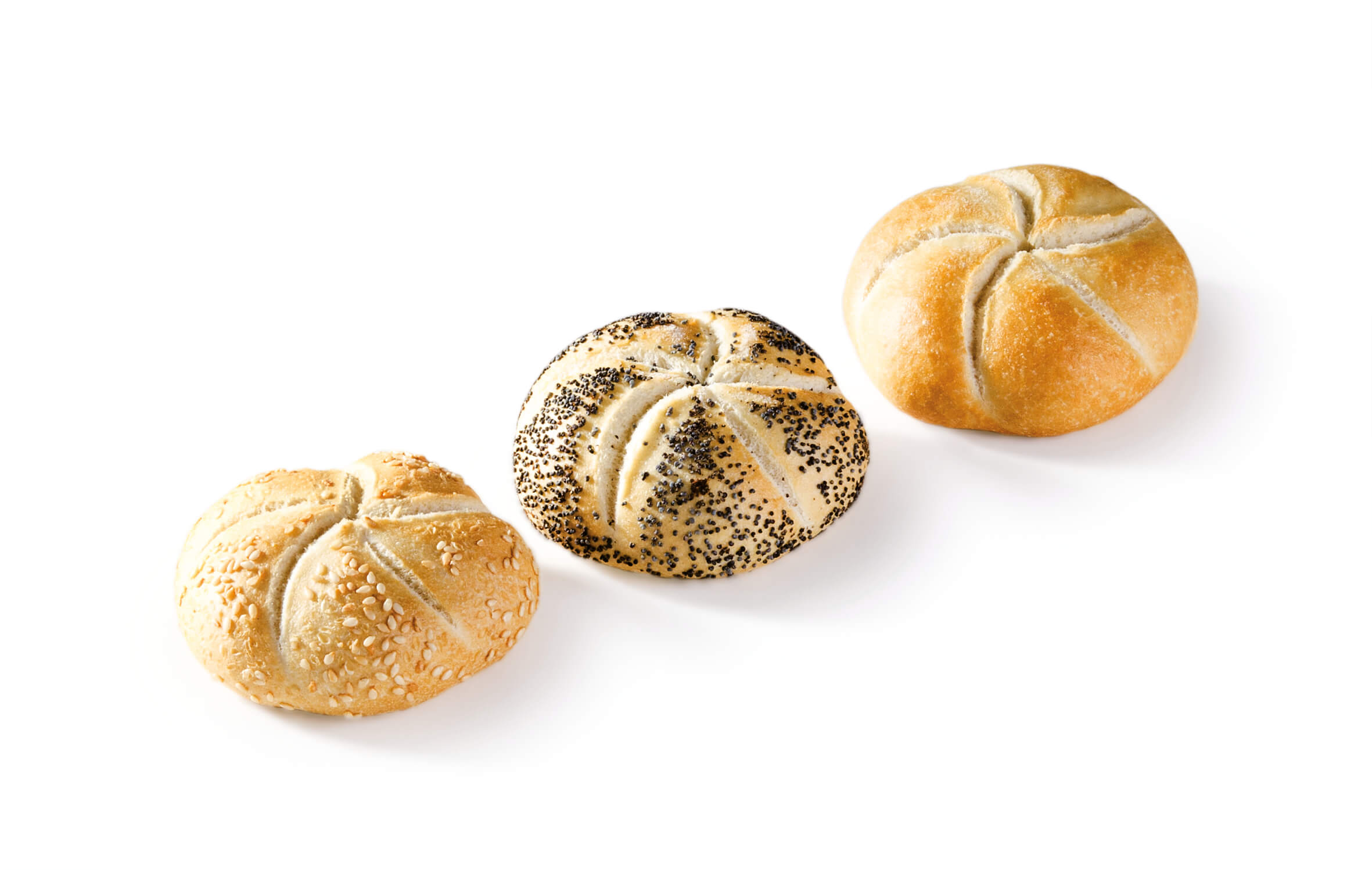 Kaiser mixed mini buns