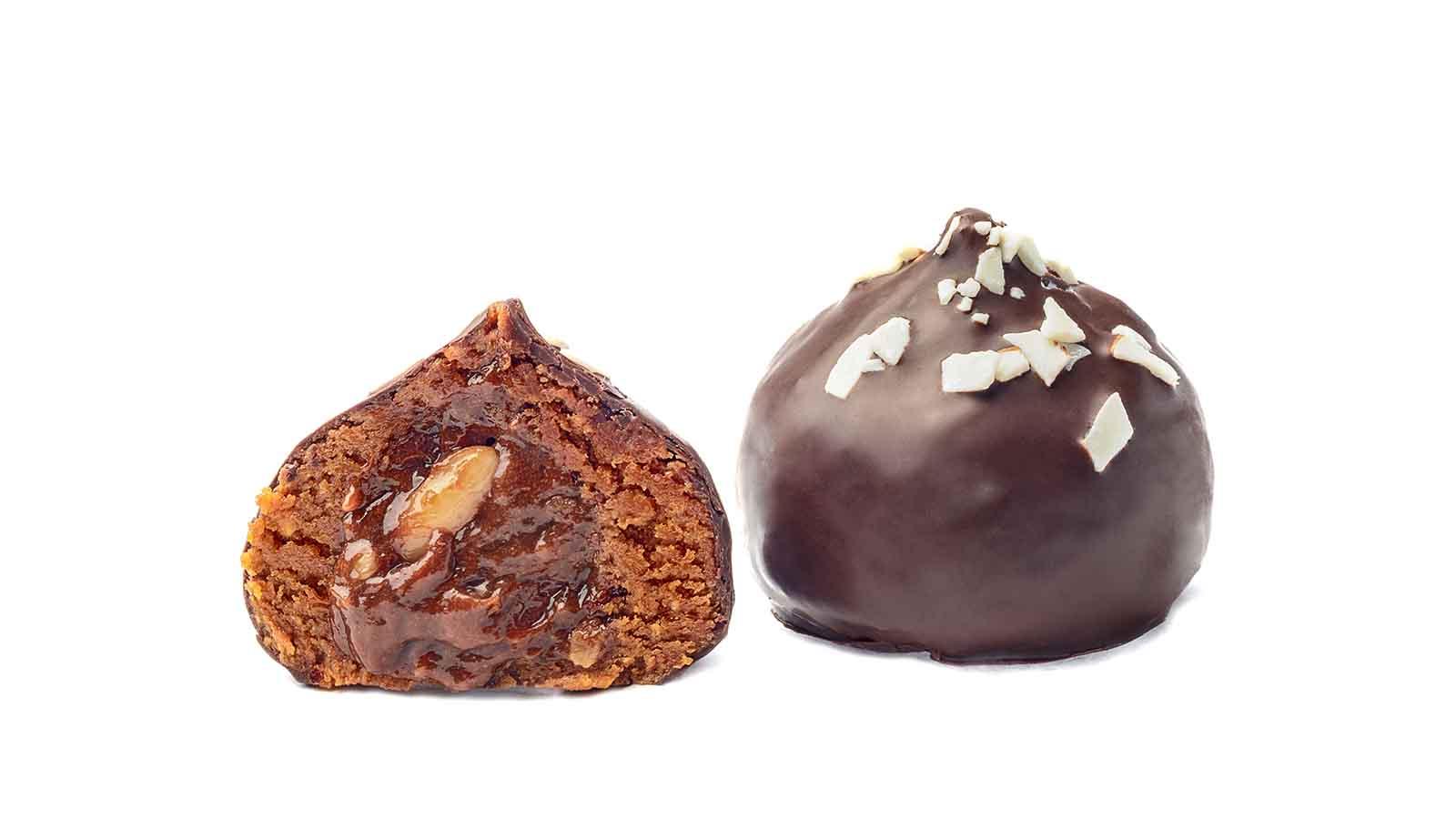 Медове тистечко з карамельно-горіховою начинкою EXPORT