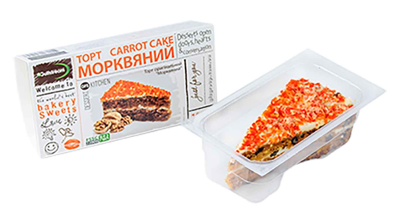 Торт Морковный 100г