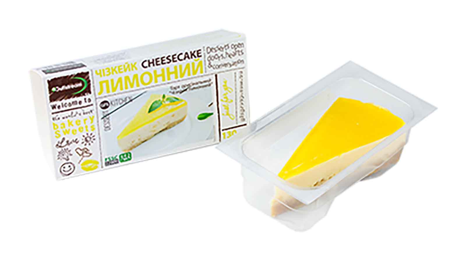 Cheesecake Lemon 130g