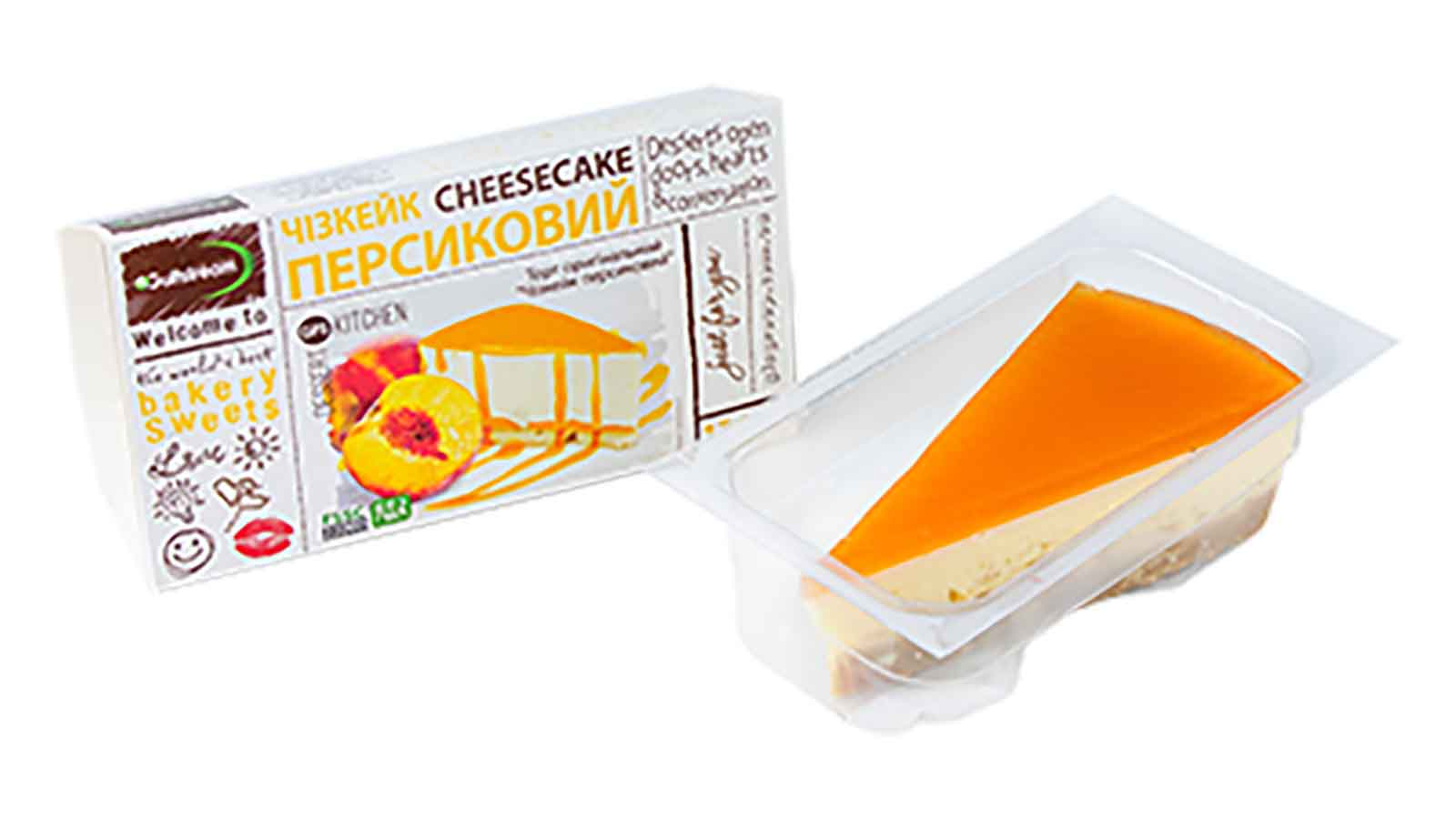 Cheesecake Peach 130g