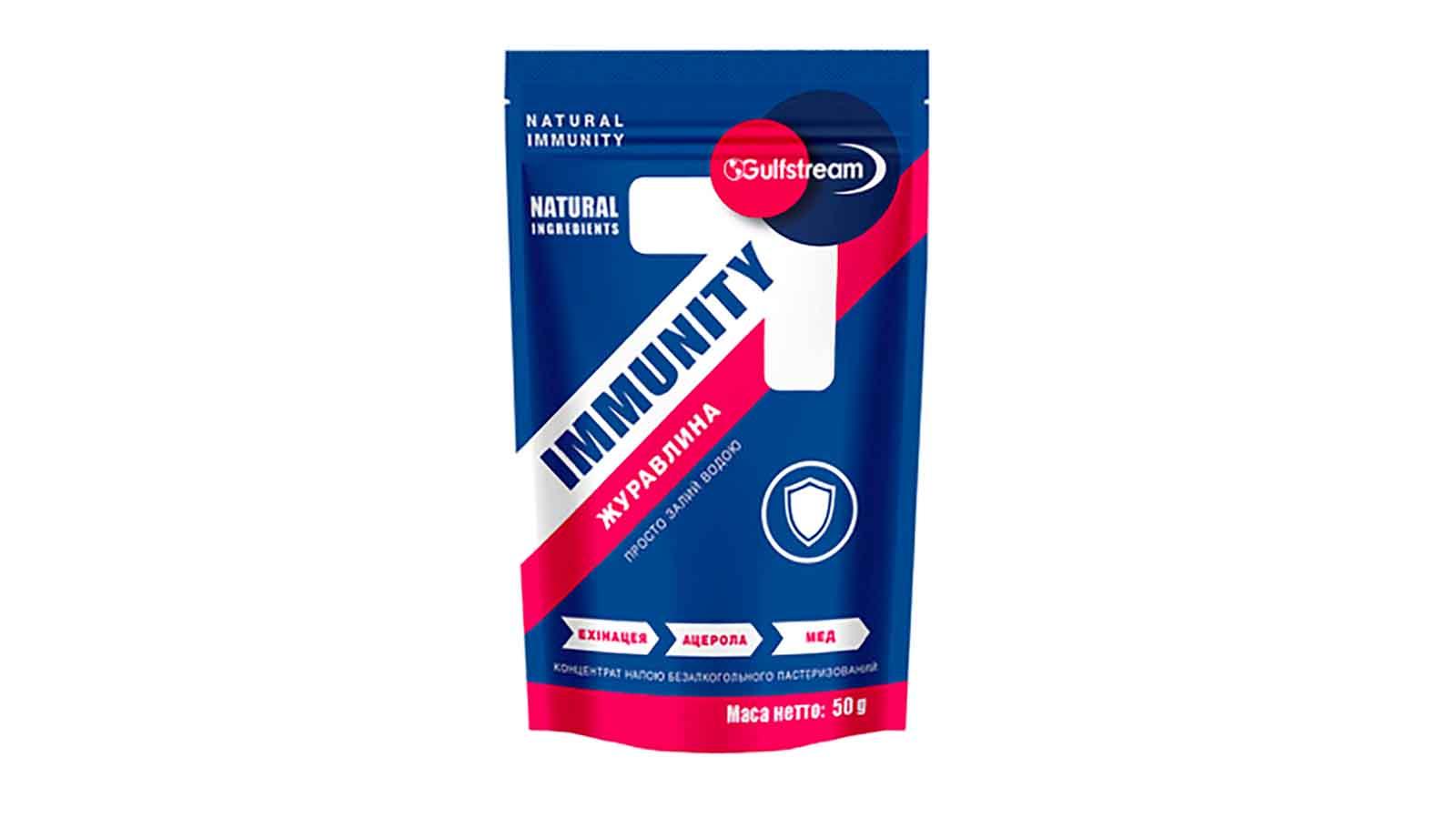 Функціональний коктейль без сахару Immunity