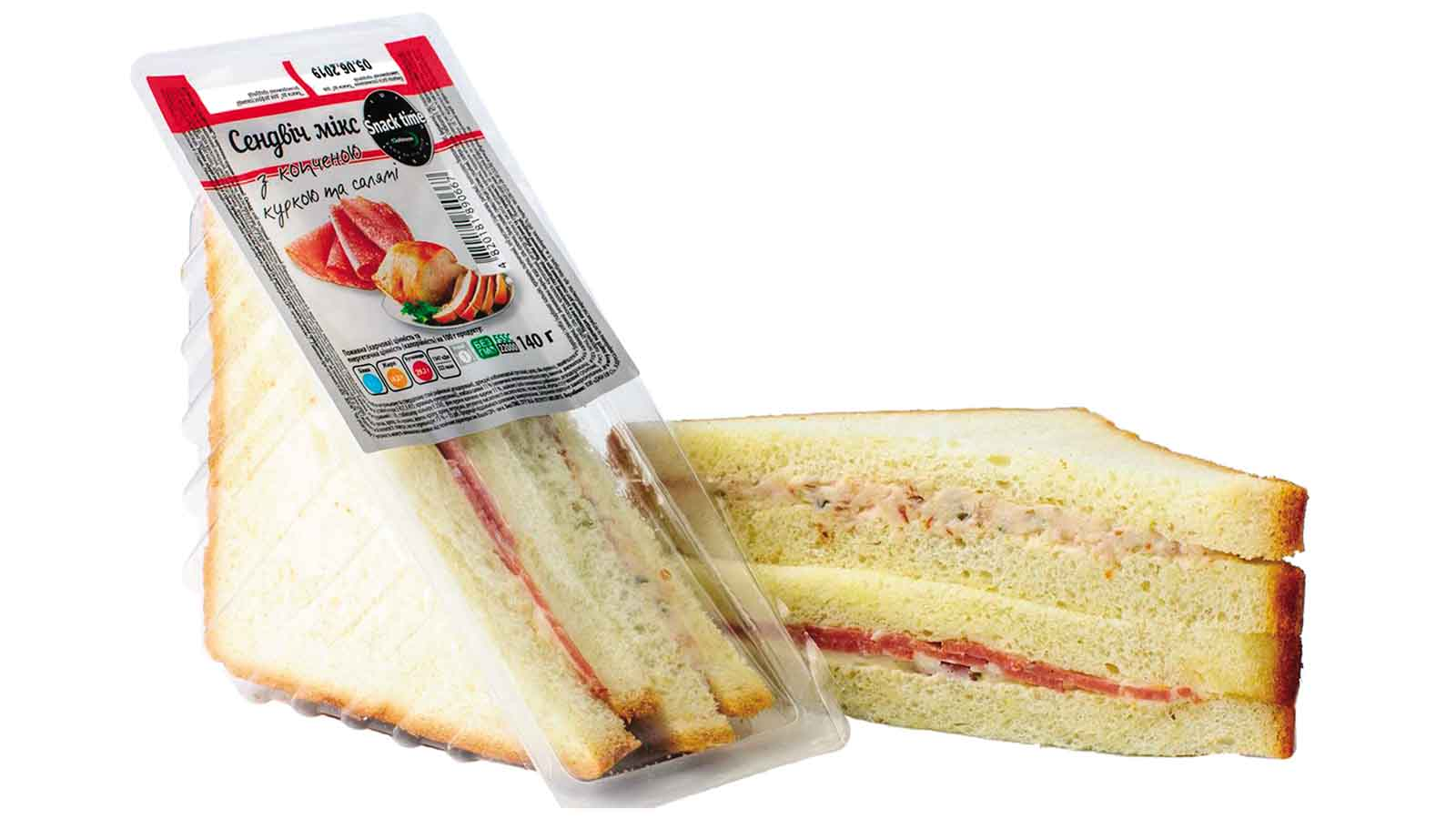 Sandwich mix (chicken and ham)