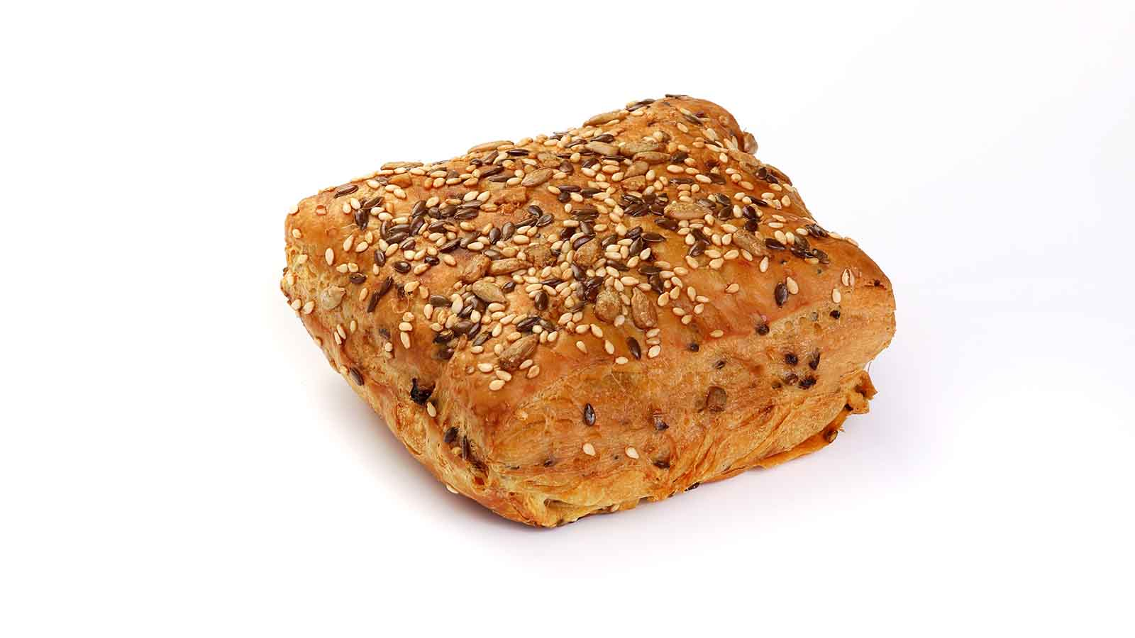 Multigrain puff with herbs and seeds