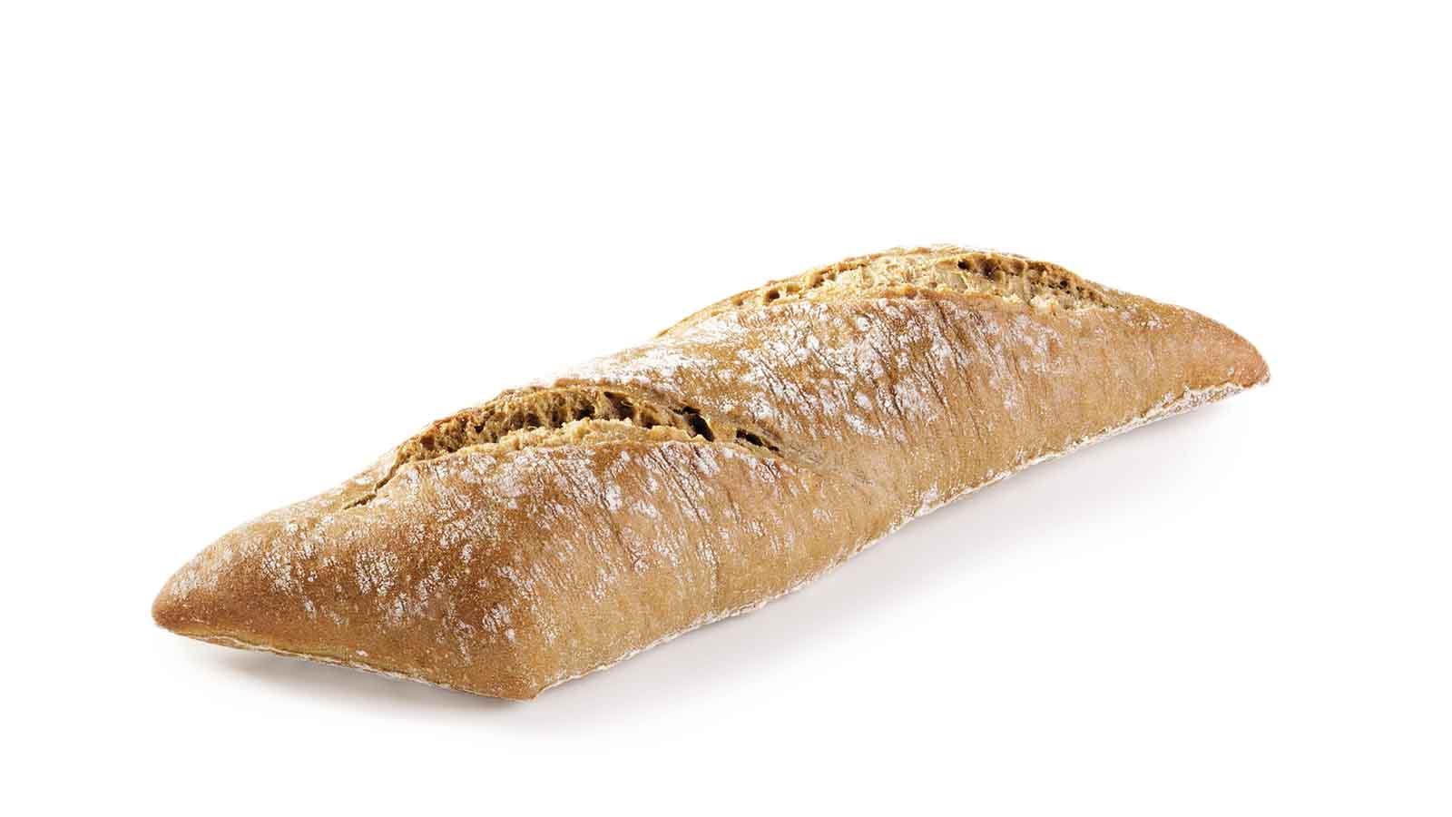 Rustic mini baguette