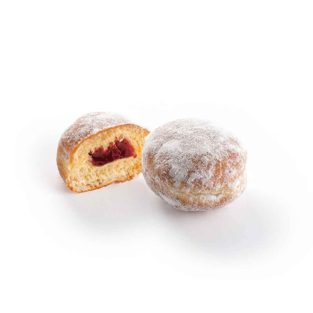 Berliner MINI with berry filling