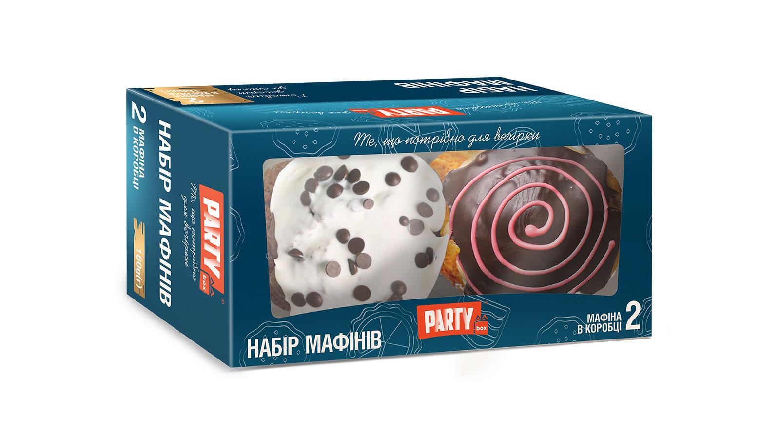 PARTYbox Маффин-сет №15