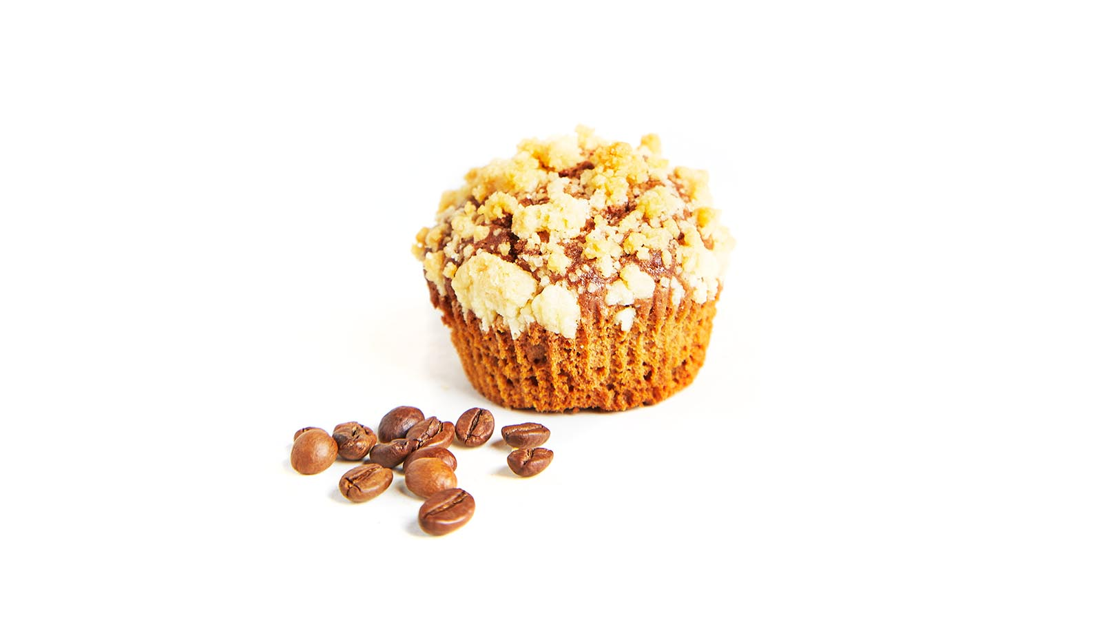 "Caramel and milk muffin ""Irish"" with sugar crumbs 50g"
