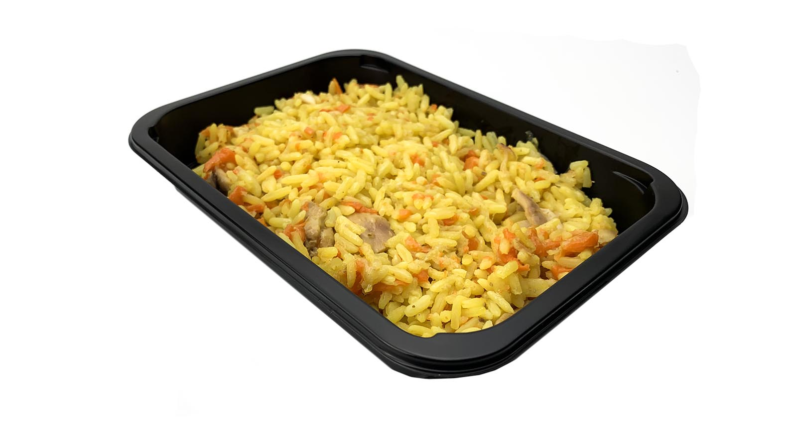 Pilaf with chicken meat, 0.3 kg