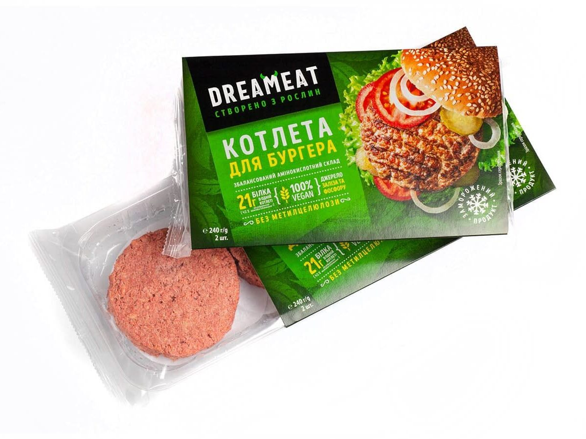 Котлета рослинна для бургера Dreameat н/ф